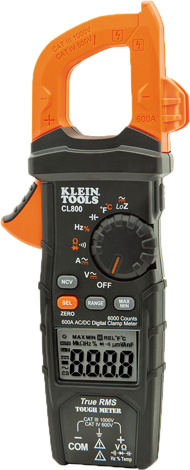 review-of-the-klein-cl800-multimeter